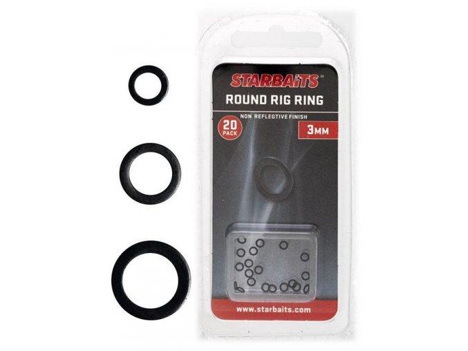 Kroužky kulaté STARBAITS Round Ring 4.4mm