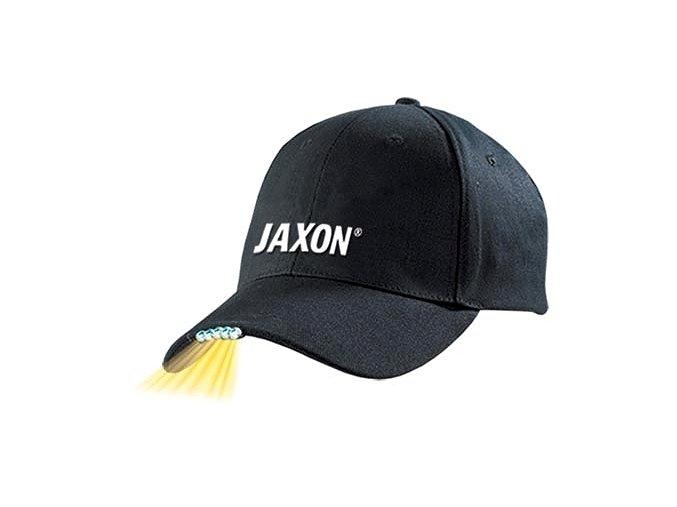 Kšiltovka JAXON se světlem černá