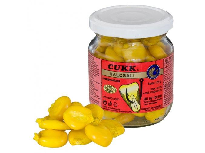 Cukk Halcsali Mega nakládaná kukuřice bez nálevu 125 g