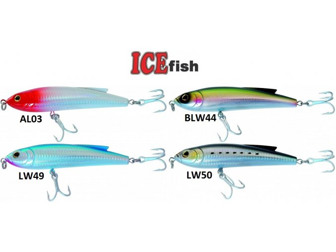 Wobler ICE Fish Flay 14 cm/90 g