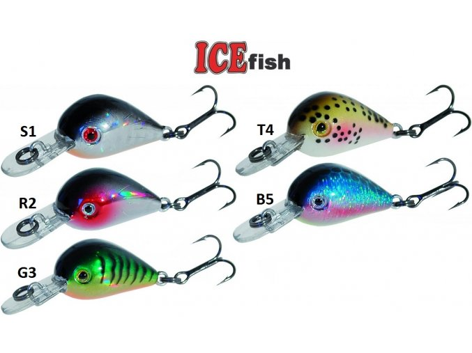 Wobler ICE Fish UP 2,5 cm/2 g
