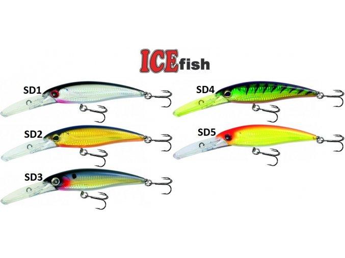 Wobler ICE Fish Snok D 14 cm/40 g