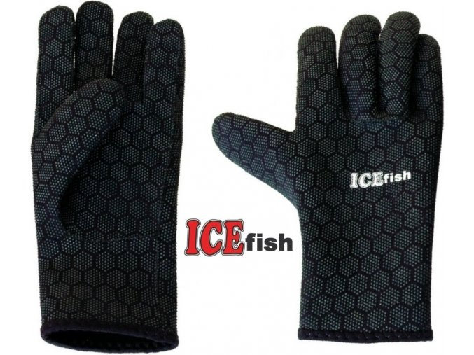 ICE Fish neoprénové rukavice 40009