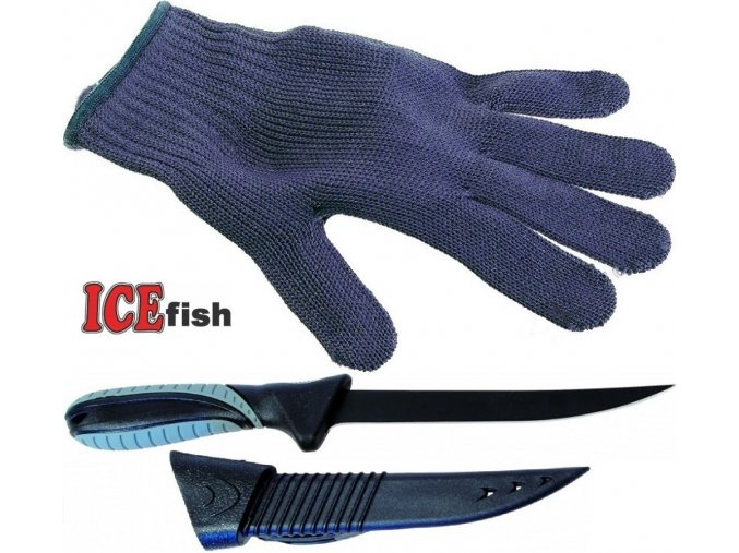 Filetovací sada ICE Fish LUX