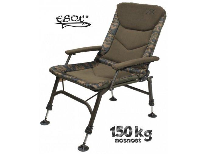Křeslo Esox Steel Chair Lux 2018