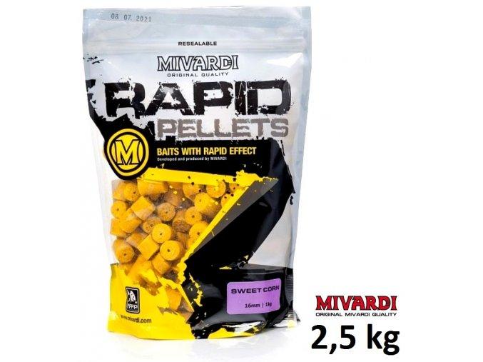 Mivardi pelety Rapid SweetCorn 2,5 kg