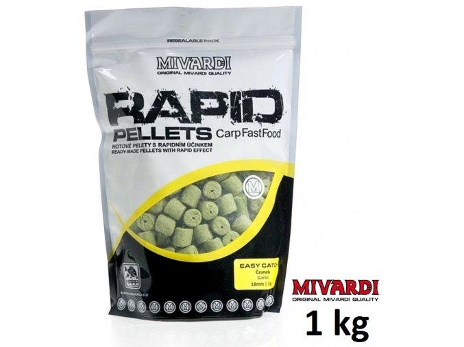 Mivardi pelety Rapid Easy Catch Česnek 1 kg