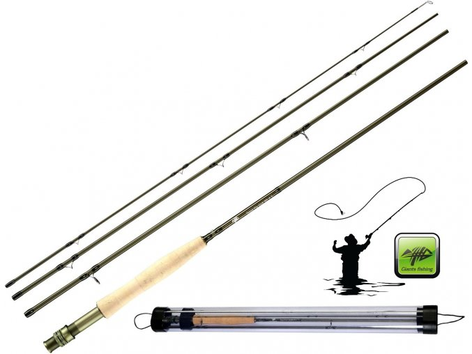 Giants Fishing muškařský prut Trout Fly CLX 9ft/#5 + tubus