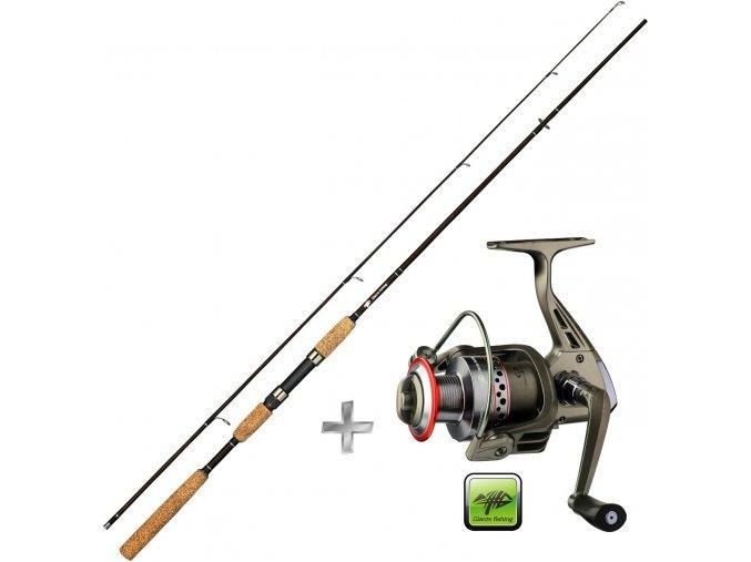 Giants Fishing prut LXR Spin 8ft/10-35 g + naviják