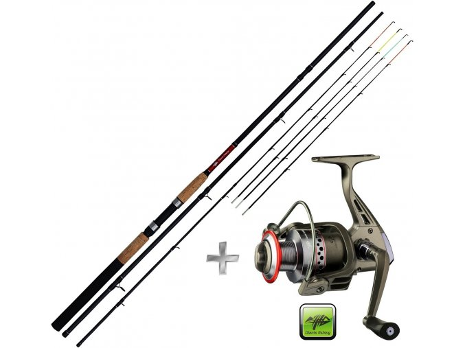 Giants Fishing prut CLX Feeder TR 12ft Medium + naviják