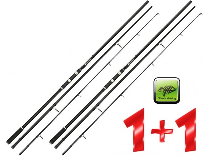 Giants Fishing prut CPX Carp 11ft/3 lb - AKCE 1+1