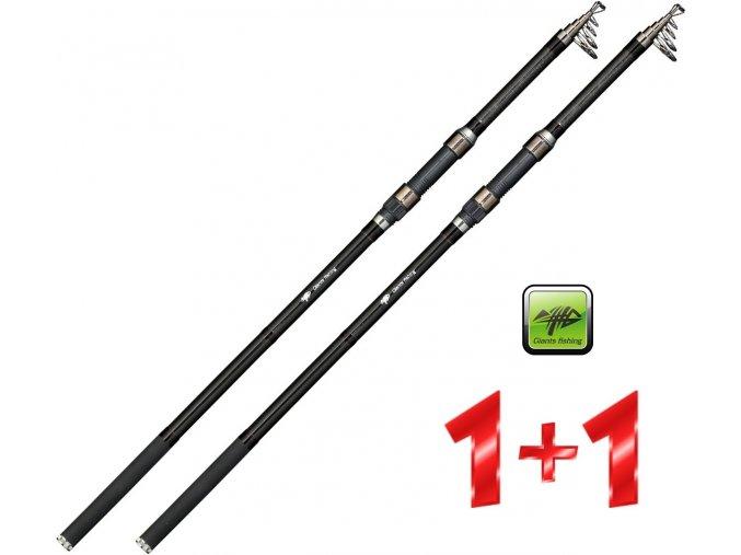 Giants Fishing prut Deluxe Tele Carp 13ft/3 lb - AKCE 1+1