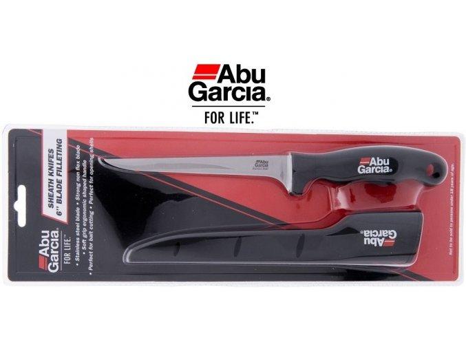 Abu Garcia filetovací nůž čepel 17 cm