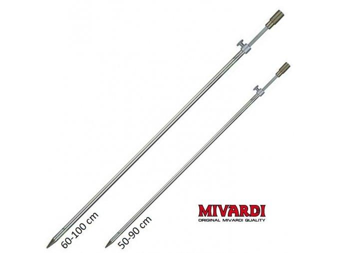 Vidlička ocelová Mivardi Z - závitová 90/100 cm