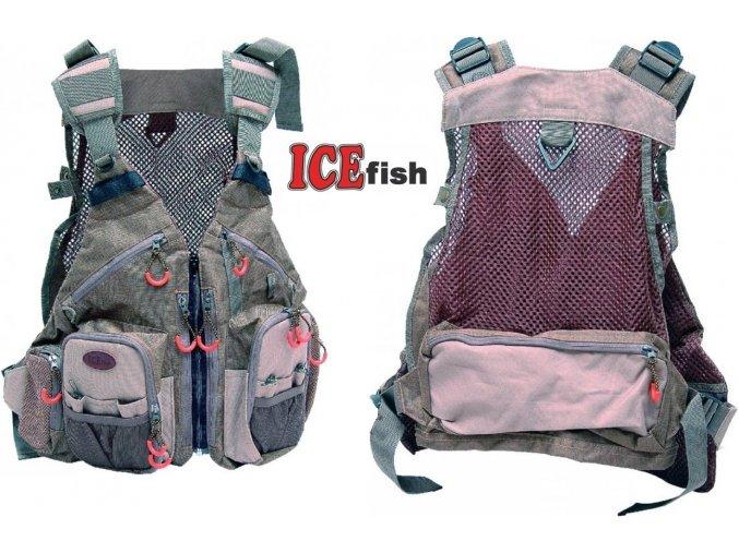 Rybářská vesta ICE Fish IF
