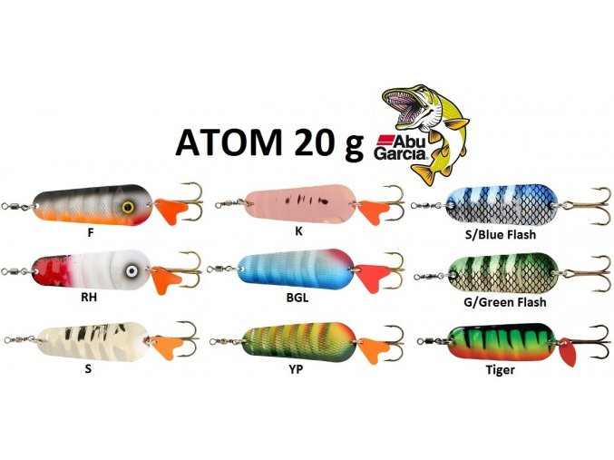 Abu Garcia třpytka Atom 20 g
