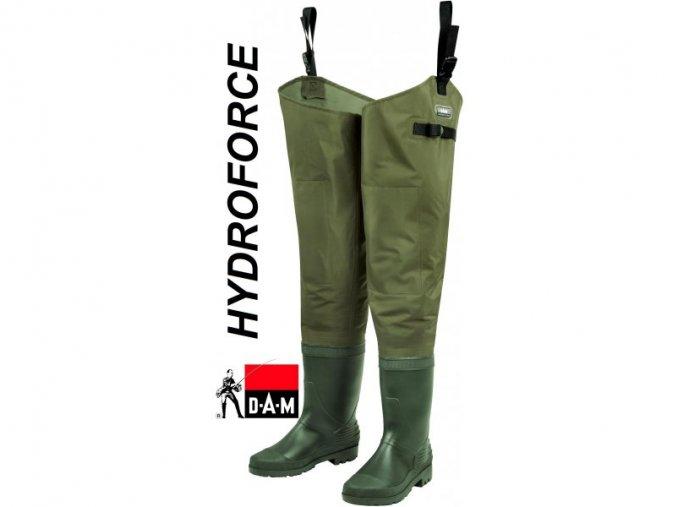 DAM brodící holínky Hydroforce Nylon Taslan Hipwaders