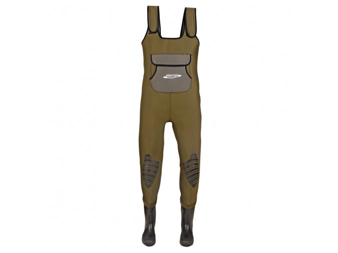 Neoprenové brodící kalhoty DAM Fighter Pro s gumovou podrážkou
