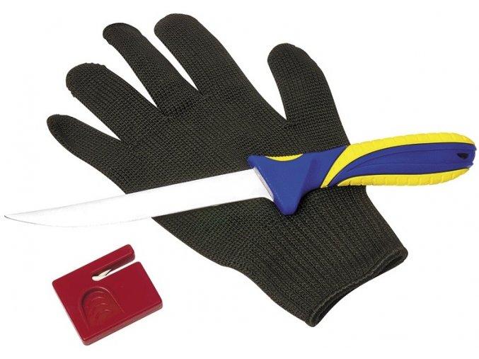 Albastar filetovací set s rukavicí 3 dílný