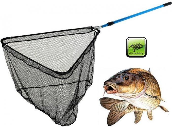 Giants Fishing podběrák Metal Plus Landing Net 2,55 m/70 x 70 cm