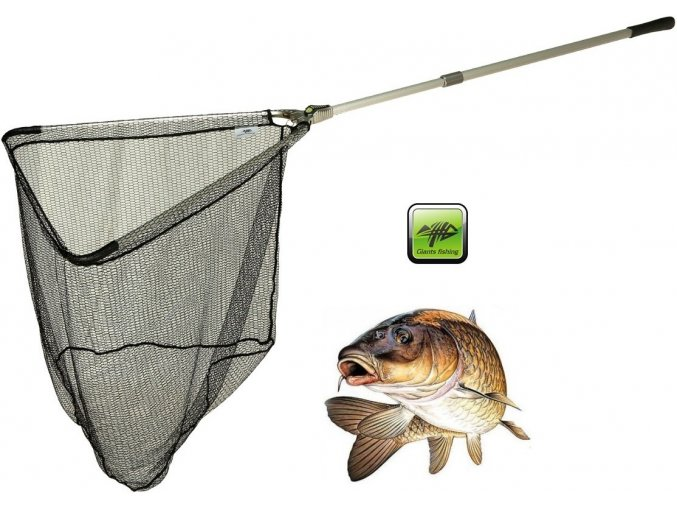 Giants Fishing podběrák Strong Alu Landing Net 2,2 m/70 x 70 cm