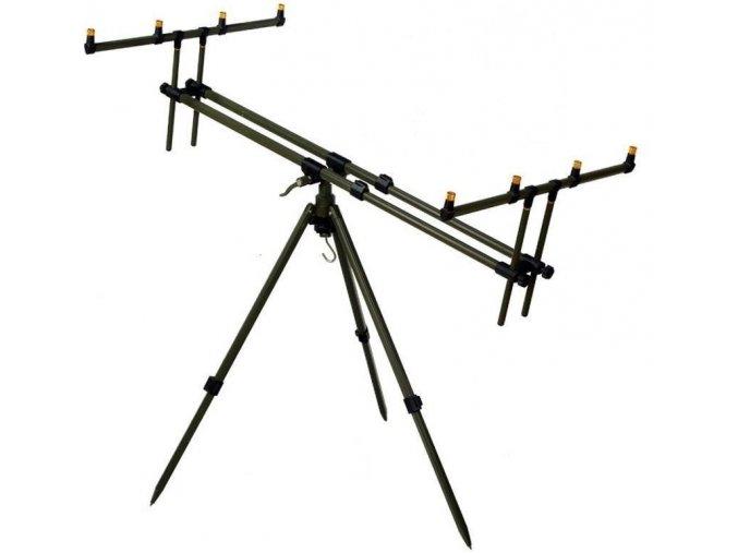 Giants Fishing stojan Tripod Army 4 Rods + 2 x hlásič