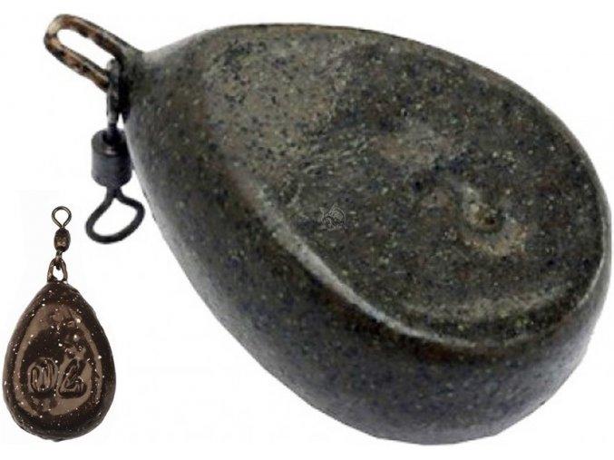Koncová zátěž FLAT s obratlíkem 50 - 150 g