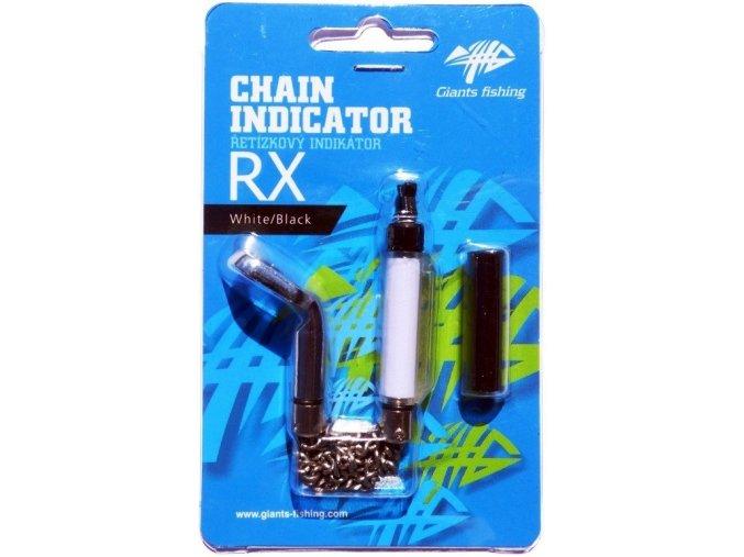 Řetízkový swinger Giants Fishing Chain Indicator RX White/Black
