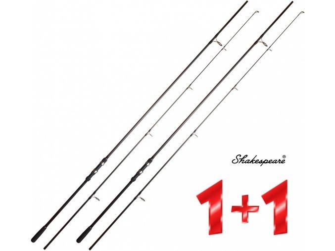 Prut Shakespeare Cypry Carp 2 3,60 m/2,75 lb (2 díly) - AKCE 1+1