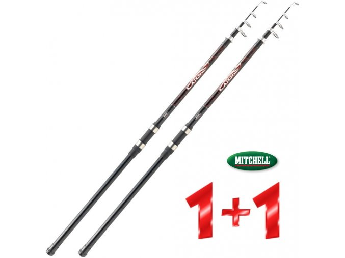 Prut Mitchell Catch 2 Carp Tele Power 350 cm/50-150 g - AKCE 1+1
