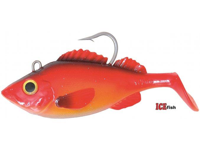 Umělá nástraha na moře ICE Fish UER Okouník OR 16 cm/450 g