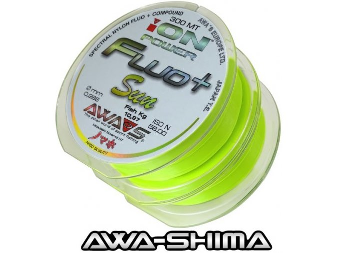 Vlasec Awa-Shima ION POWER Fluo+ Sun 2 x 300 m