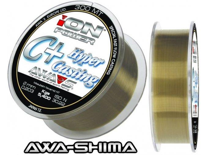 Vlasec Awa-Shima ION POWER C+ Hyper Casting 150 m