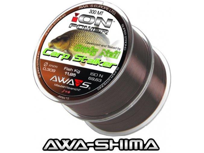 Vlasec Awa-Shima ION POWER Craig Neil Carp Stalker 2 x 300 m