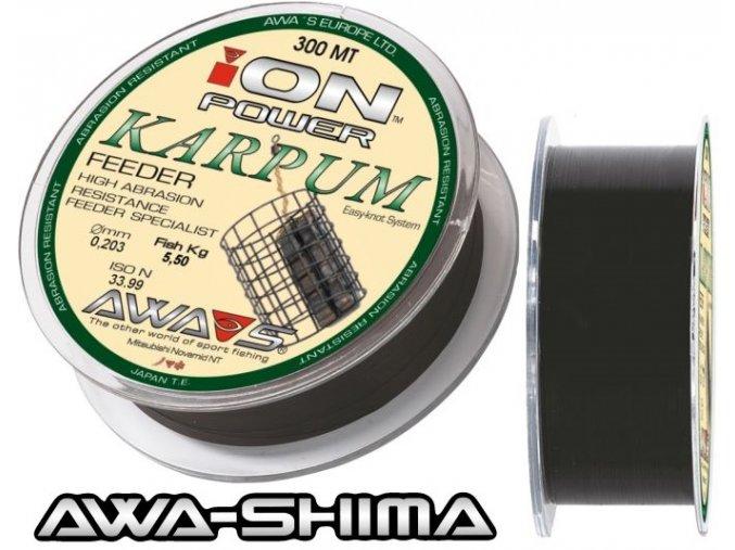 Vlasec Awa-Shima ION POWER Karpum Feeder 300 m