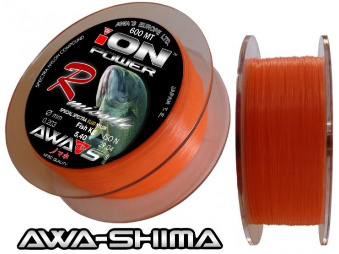 Vlasec Awa-Shima ION POWER R-Missile Fluo 600 m