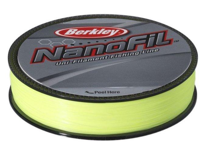 Nanofil Berkley 125 m Hi-Vis Chartreuse fluo-žlutý