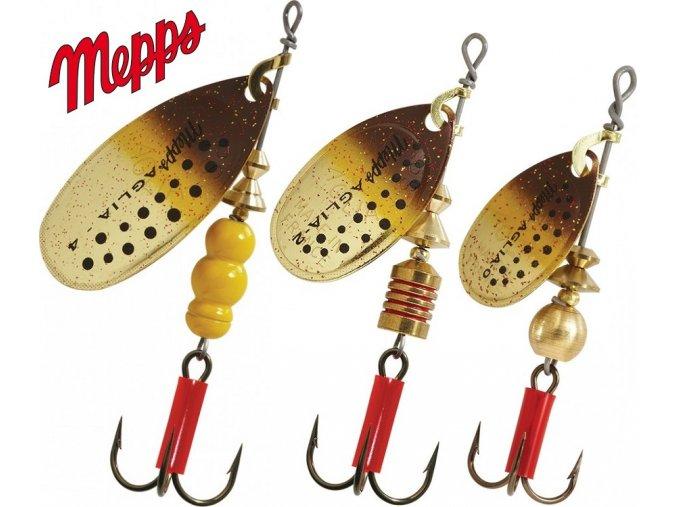 MEPPS rotační třpytka Aglia Trout