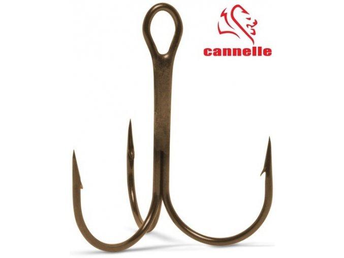 Trojháčky Cannelle Round Treble 3205 Z