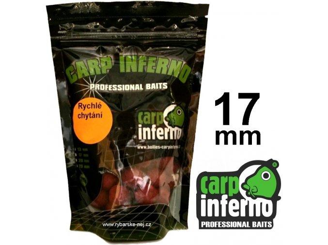 Carp Inferno boilies pro rychlé chytání 17 mm/250 g