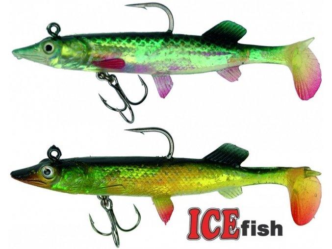 Štiky ICE Fish 10 cm/12 g - balení 2 ks