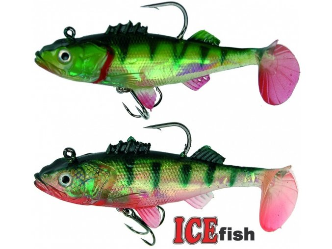 Okouni ICE Fish 10 cm/25 g - balení 2 ks