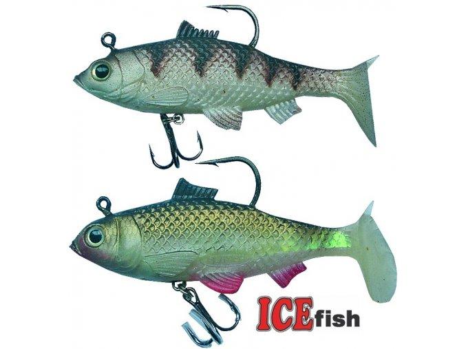 Bílé ryby ICE Fish 10 cm/23 g - 2 ks