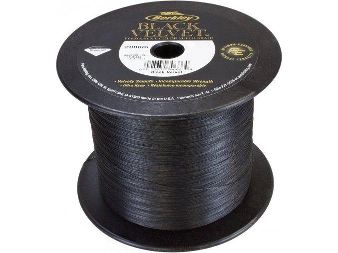 Berkley Black Velvet pletená šňůra 1 m