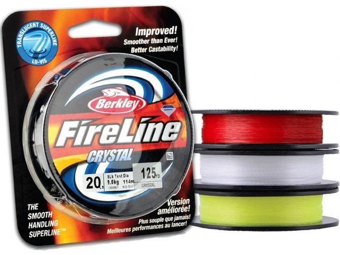 Berkley FireLine Red pletená šňůra 110 m
