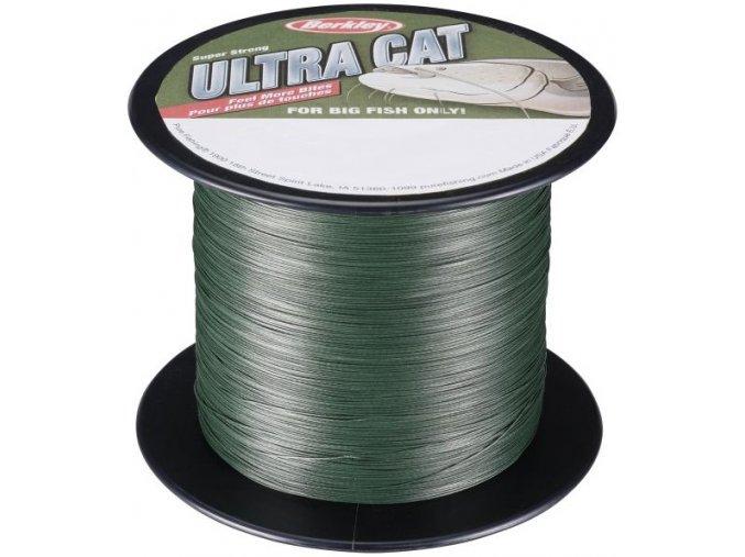 Berkley Ultra Cat Moos Green pletená šňůra 1 m