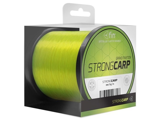 Vlasec FIN Strong Carp Grand Fixation fluo žlutá 1 m