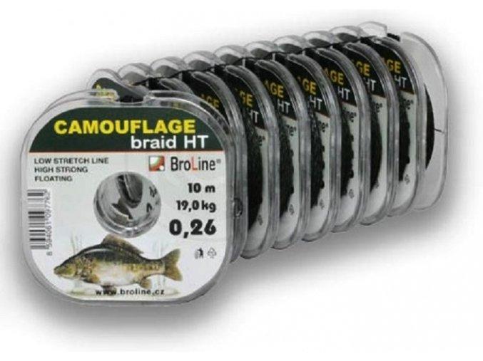 Broline Camouflage Braid HT pletená šňůra 10 m