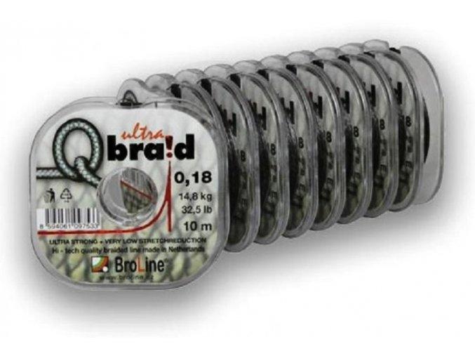 Broline Q Braid Ultra pletená šňůra 7 m/10 m