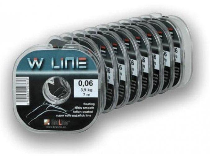 Broline W Line pletená šňůra 7 m